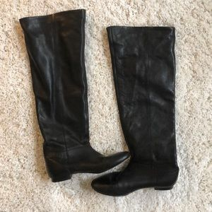 Dolce vita leather over the knee boots
